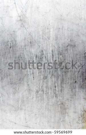 Industrial metal scratched of background - stock photo