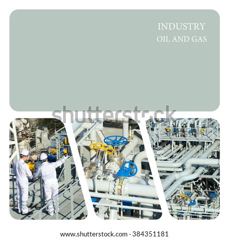 Industrial. Oil And Gas Industry - stock photo