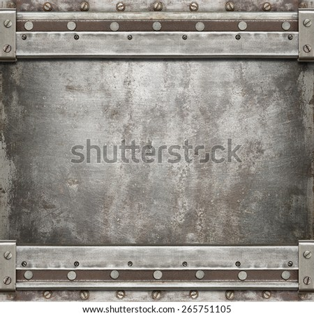 Industrial old metal background. - stock photo