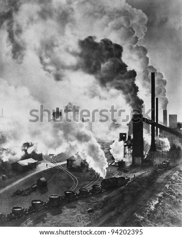 INDUSTRIAL POWER - stock photo