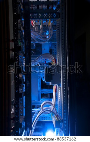 Industrial power case - stock photo