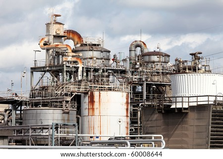 Industrial refinery