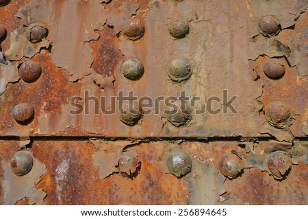 Industrial Rivets - stock photo