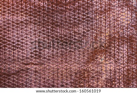 industrial rusty metal background