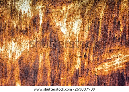 Industrial rusty metal background texture  - stock photo