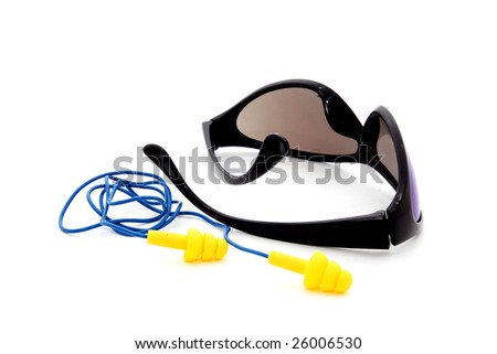 Industrial safety equipment - stock photo