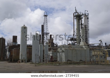 Industrial Site - stock photo