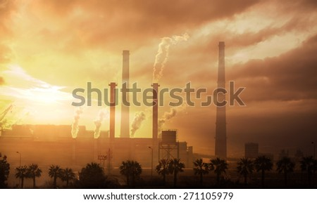 Industrial Steel Factory