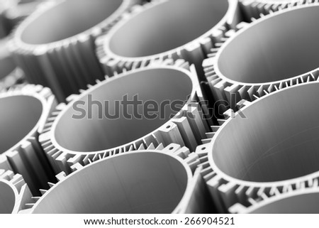 Industrial tools and spare parts,close up. - stock photo