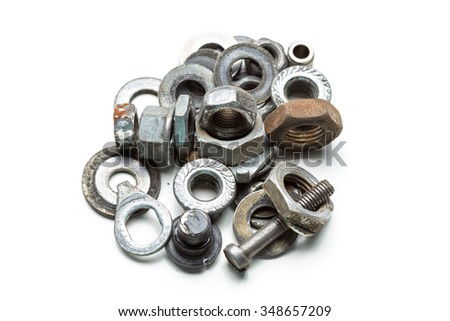 Industrial tools isolated