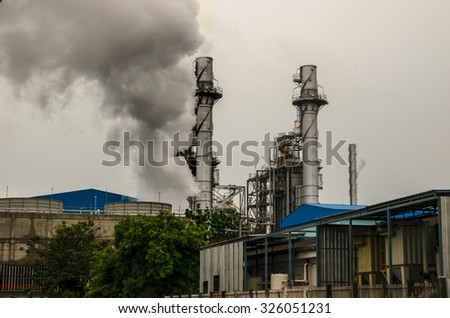 Industrial toxins - stock photo