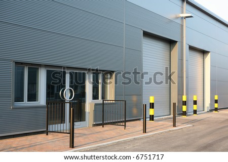 Industrial Unit - stock photo