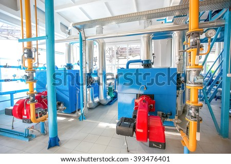 Industrial water pumping - at factory