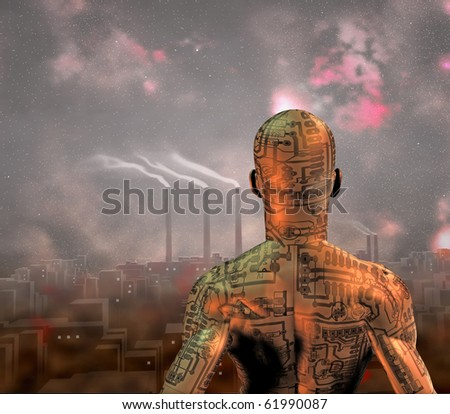 Industry City - stock photo