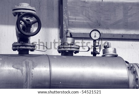 industry oil and gas pipes, energy concept , concept of industry systems - stock photo