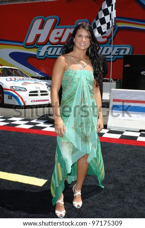 Indy 500 racecar driver DANICA PATRICK at the world premiere, on Hollywood Boulevard, of Walt Disney Pictures' Herbie: Fully Loaded. June 19, 2005 Los Angeles, CA  2005 Paul Smith / Featureflash - stock photo