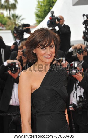 "Ines de La Fressange at the gala premiere for ""Midnight in Paris"" the opening film at the 64th Festival de Cannes. May 11, 2011  Cannes, France Picture: Paul Smith / Featureflash"