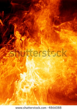 inferno - stock photo