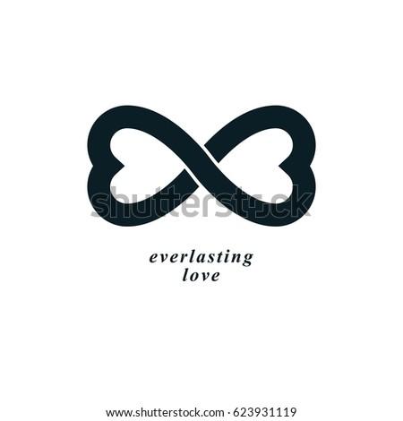 Vector Infinity Logo Design Stock Vector 427691032 border=
