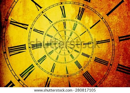 Infinite of Time - stock photo