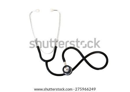 Infinity Sign The Stethoscope - stock photo
