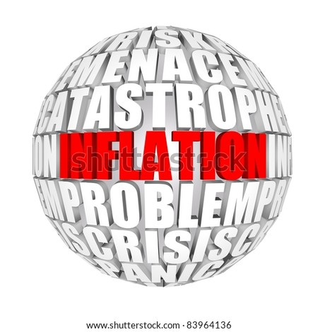 inflation - stock photo