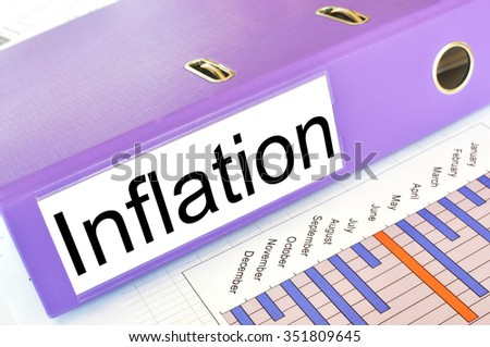 INFLATION  folder on a market report