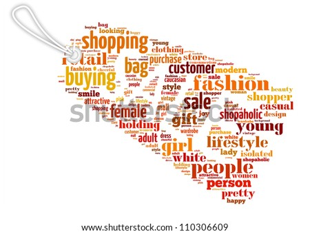 Info-text graphics Sale composed in Sale Tag shape concept in white background