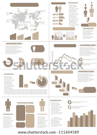INFOGRAPHIC DEMOGRAPHICS NEW STYLE BROWN