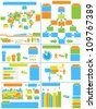 INFOGRAPHIC DEMOGRAPHICS TOY - stock photo