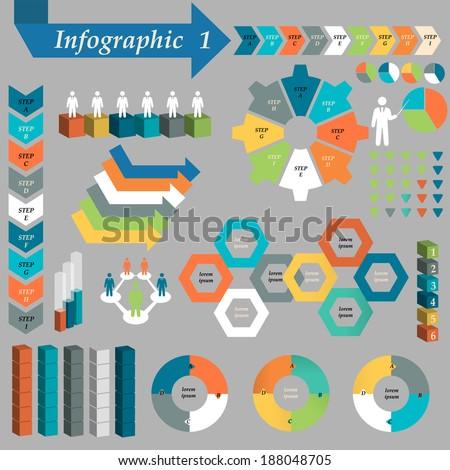 Infographic Element - stock photo