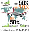 Infographic Travel Elements. - stock vector