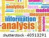 Information Analysis Process Concept as a Art - stock photo