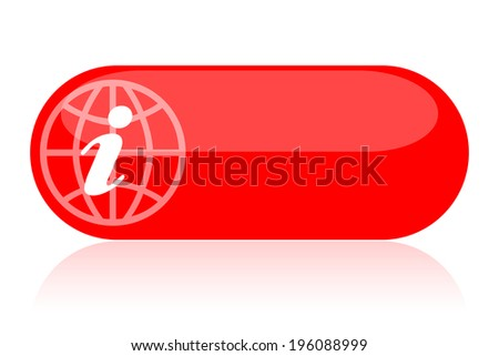 Information icon - stock photo