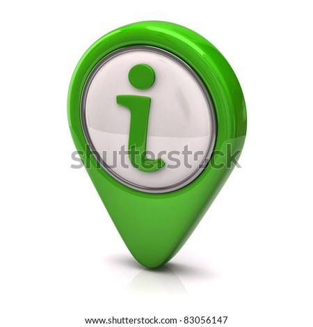 Information icon - stock photo