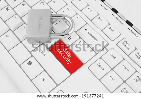 Information security concept - stock photo