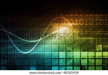 Information Security Data as a Concept Abstract - stock photo