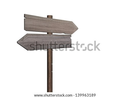 information signs - stock photo