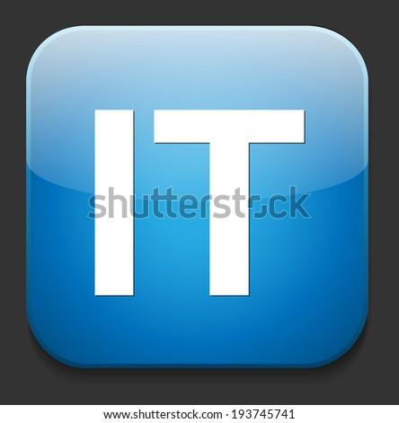 information technology Data concept - stock photo