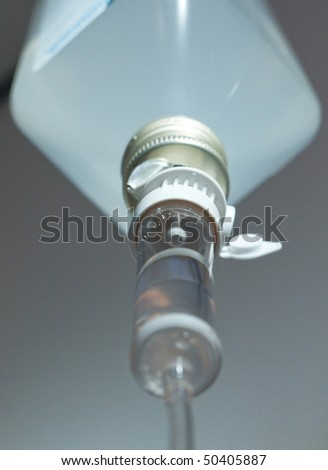 Infusion system - stock photo