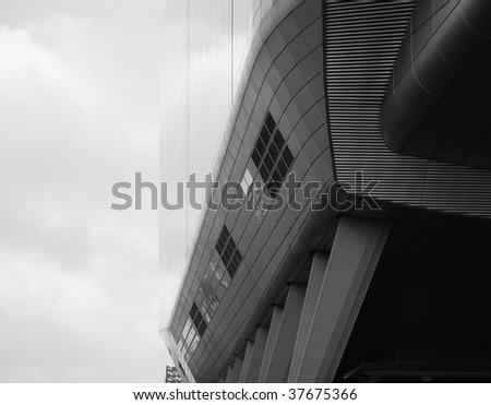 ING building Amsterdam - stock photo