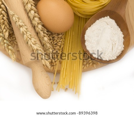 ingredients for baking - stock photo