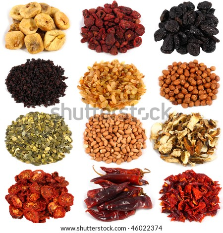 ingredients for cooking various dishes - stock photo