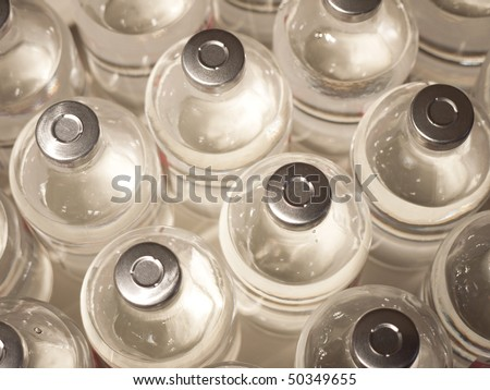 Injection bottles - stock photo