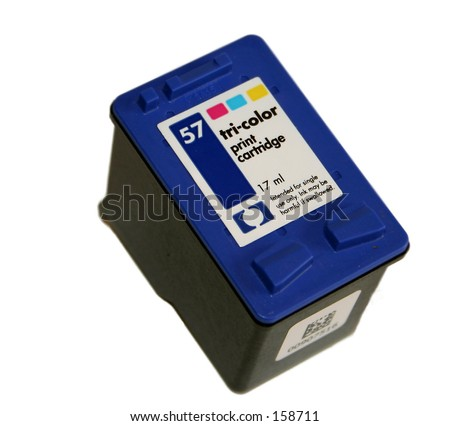ink cartridge - stock photo