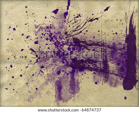 INK STAINS - stock photo