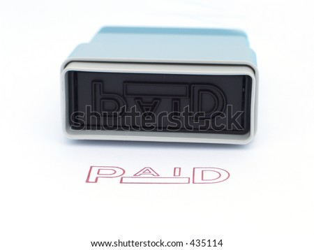 Ink Stamp - stock photo