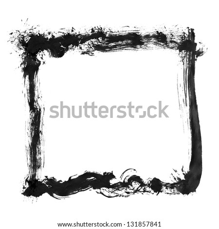 Ink sticks material - stock photo