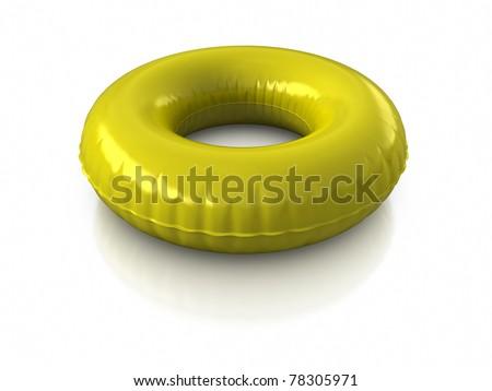 inner tube - stock photo