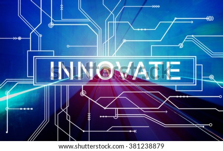 Innovate Future Technology Internet Online Digital Concept